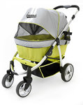Cochecito Buggy Retro Grey/Lime