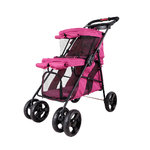 Cochecito Double Decker Pet Bus Ibiyaya Fucsia