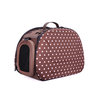 Bolso transportin Dots Brown